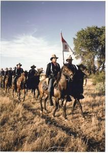 B Troop Horseback