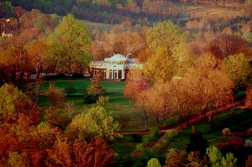 Monticello West Early Spring