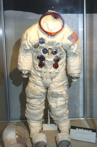Suit Worn by Neil Armstrong, at the Neil Armstrong Air & Space Museum