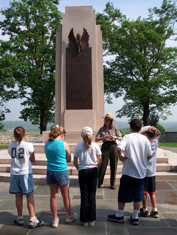 Junior Rangers at Dayton Aviation Heritage National Historical Park