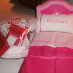 American Girl Keepsake Bed with Children for Children Project