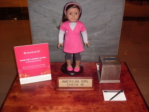 American Girl Check In at InterContinental The Barclay New York