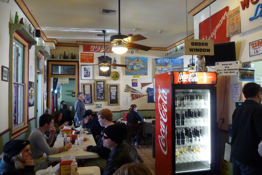 Inside Parkway Bakery & Tavern