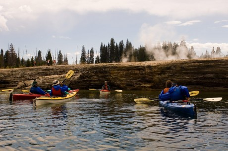 Kayaking Yellowstone Lake O.A.R.S.