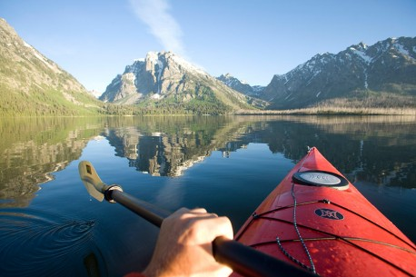 OARS Kayaking Grand Teton National Park