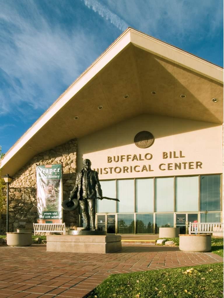 Buffalo Bill Still Rides Cody Wyoming