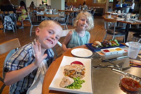 Kid Friendly Entrees at The Lettered Olive