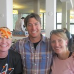 Julie, Laura, and Jonny Moseley