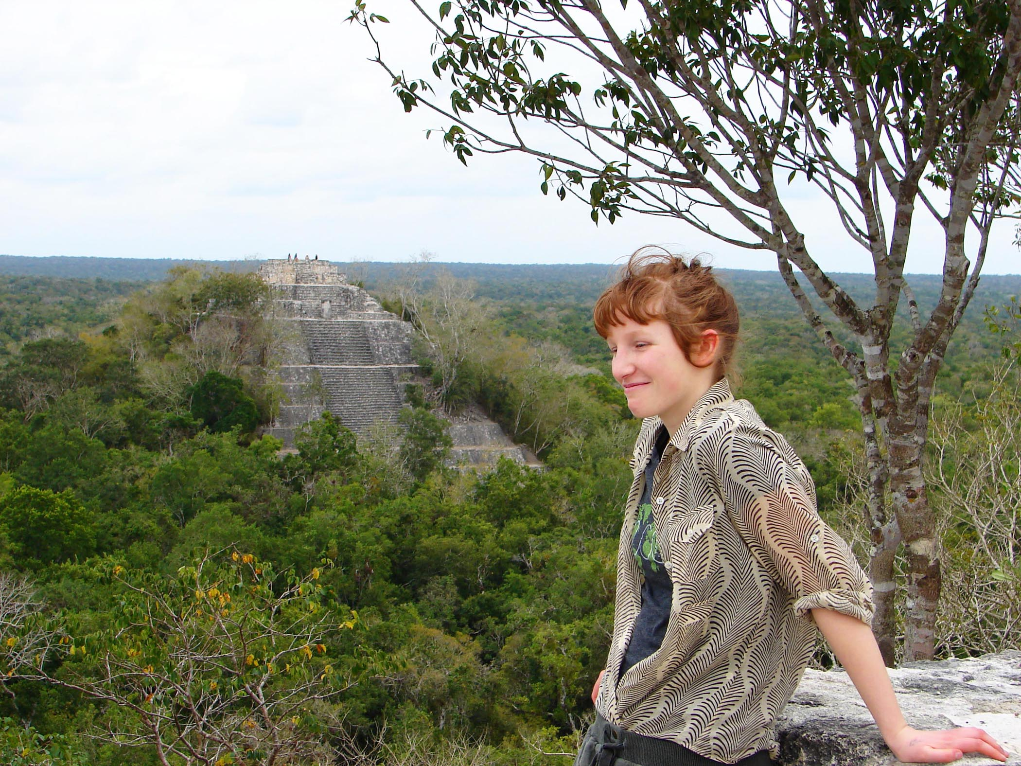 On Top of the World at Calakmul