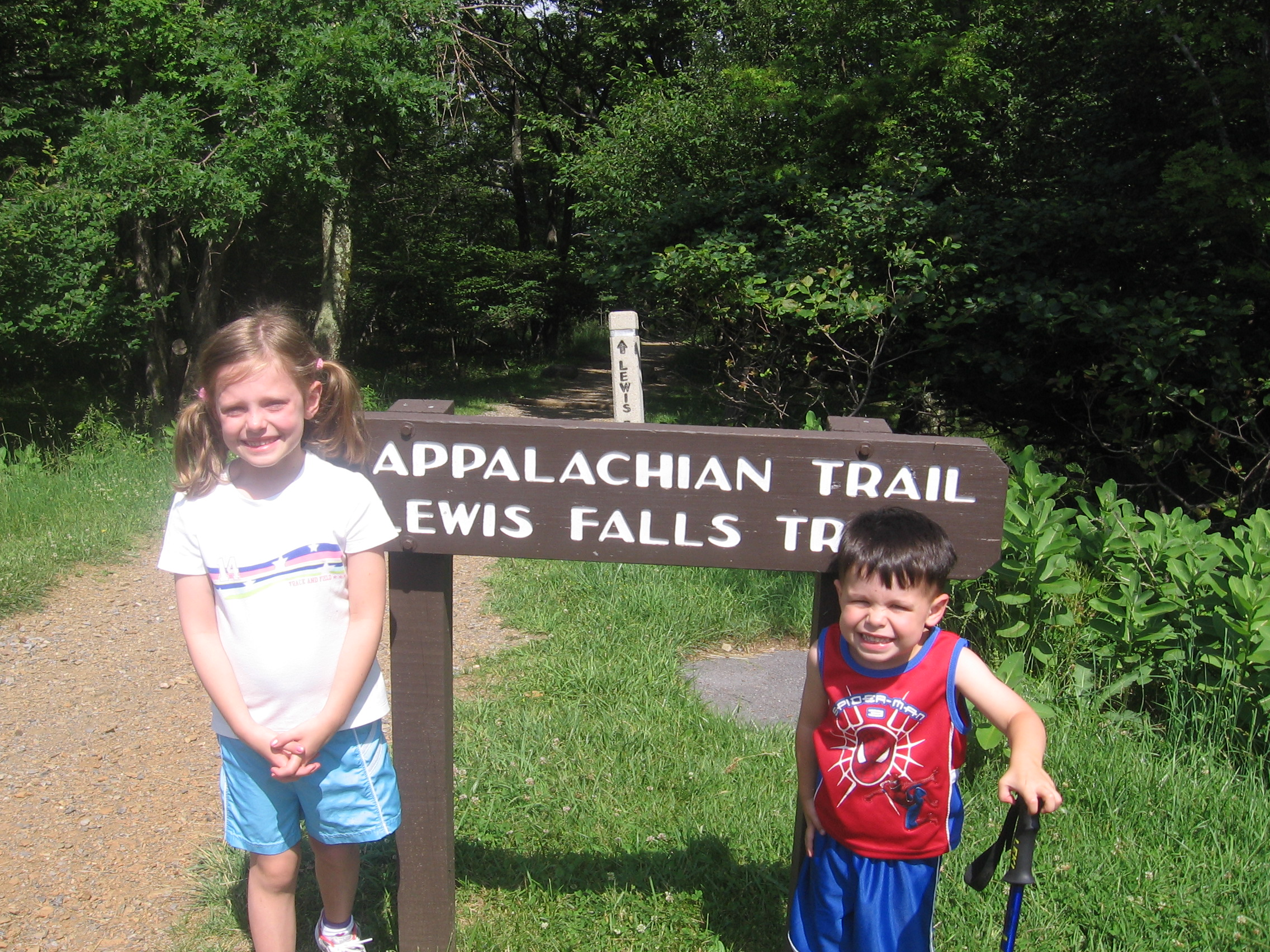 Madison & William on the Appalachian Trail