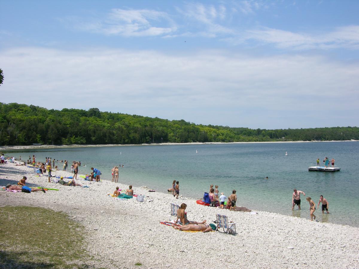 Top 5 Beaches For Skipping Stones In Door County Wisconsin