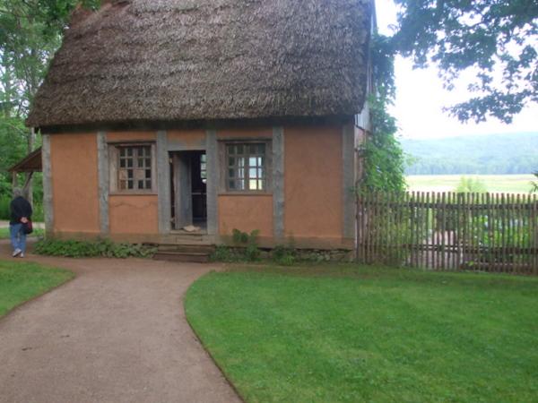 Acadia house at Historic gardens