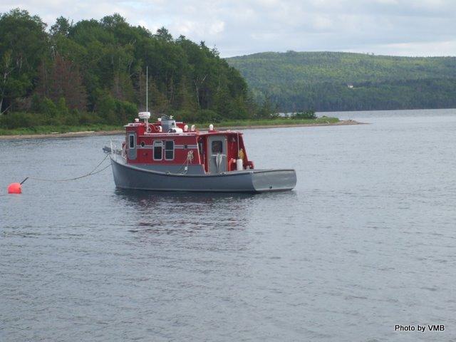 Boat at Baddeck
