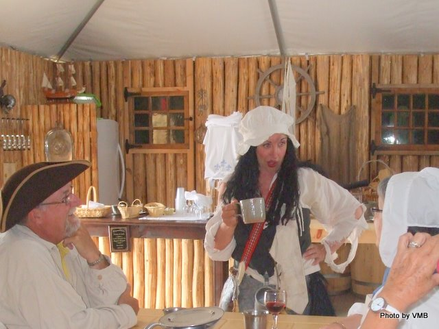 Tavern Wench at Beggar's Banquet