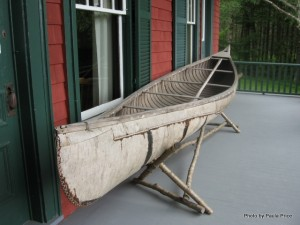 Birchbark Canoe at Campobello