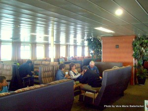 Lounge of ferry St. John-Digby