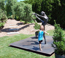 Grounds For Sculpture family fun