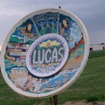 world's largest souvenir travel plate lucas kansas