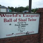 world's largest ball of twine cawker city kansas
