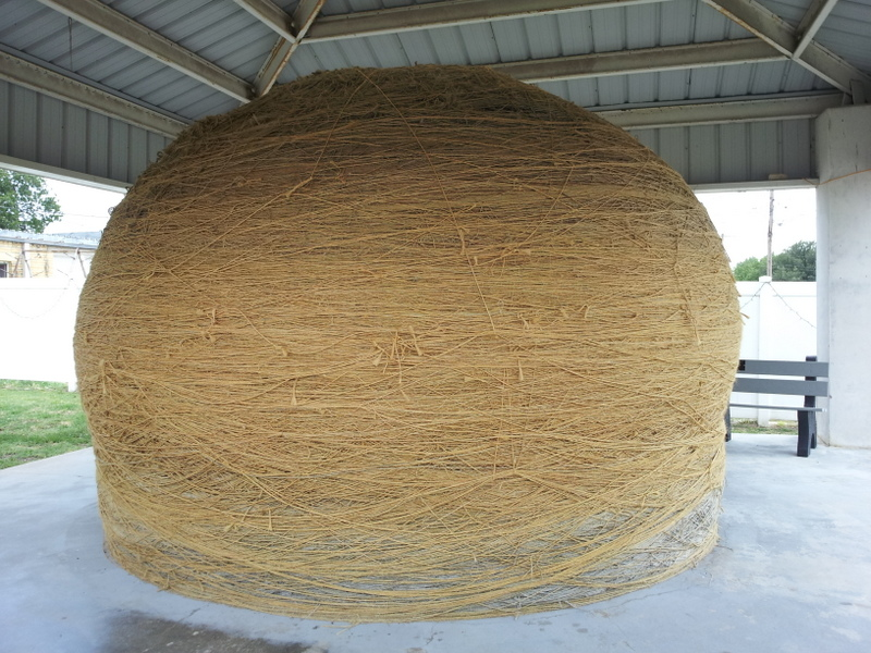 The World's Largest Ball of Twine in Cawker City, KS
