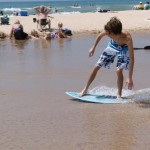 Skim Boarding at Duck Lake State Park