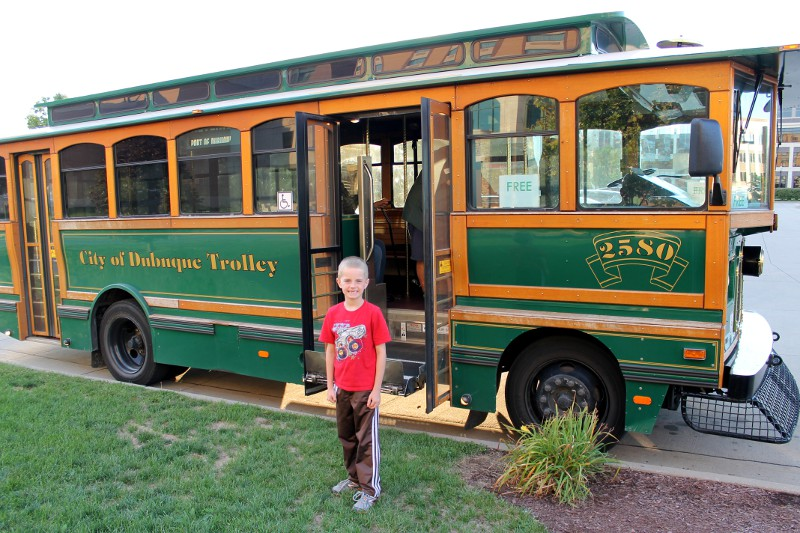 Dubuque Trolley