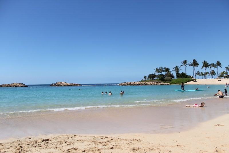 Aulani Lagoon and Beach