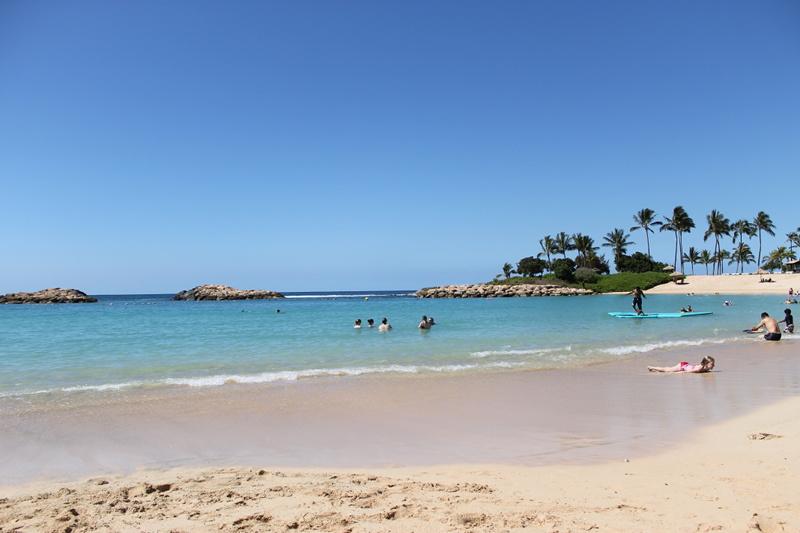 Aulani Lagoon and Beach