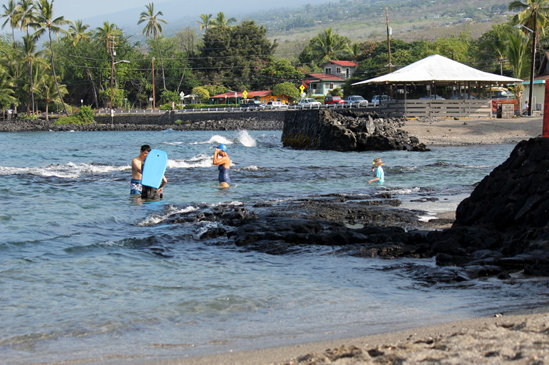 Snorkeling at Kahalu'u Beach Park