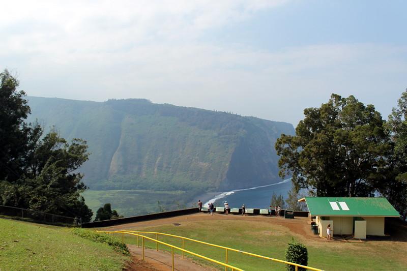 View of Waimanu Valley