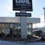 Dahl Museum Sign
