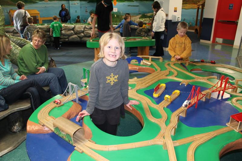 LaCrosse Childrenu0027s Museum Train Table. Childrenu0027s Museum Of La Crosse