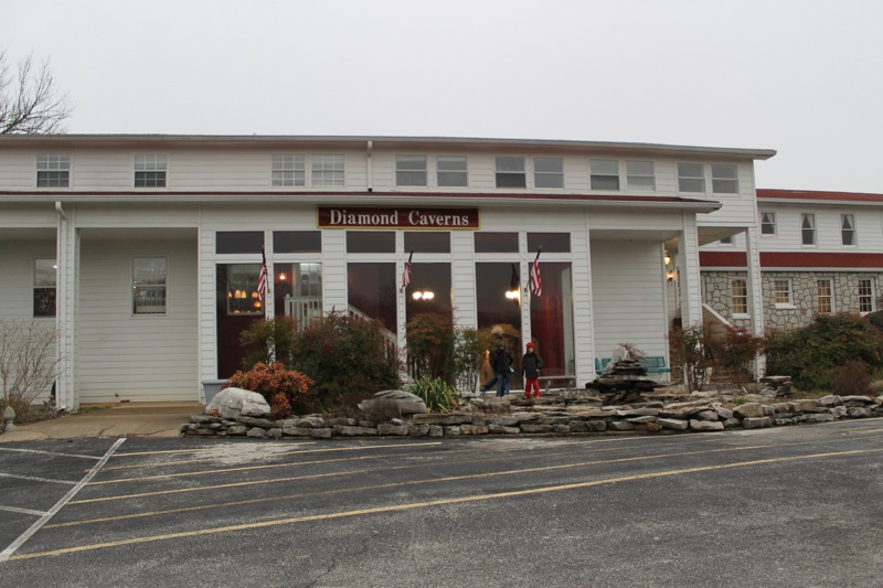 Diamond Caverns Building
