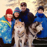 Dog sledding in Breckenridge, Colorado