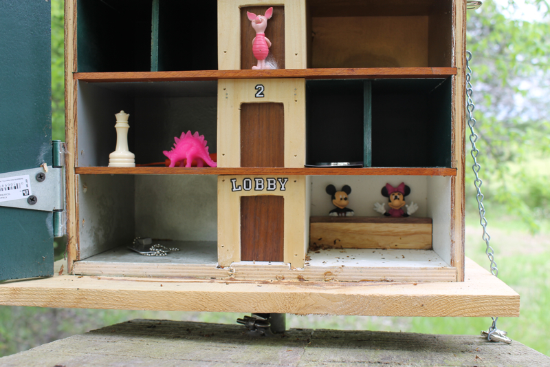 Creative Geocache Travel Bug Hotel