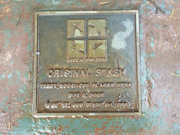 Original Stash Plaque