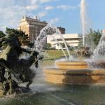 JC Nichols Memorial Fountain