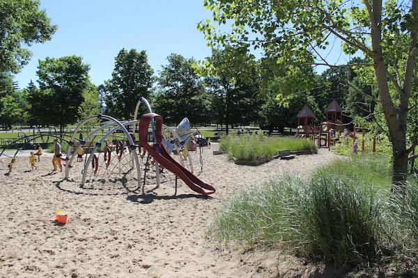 Tunnel Park Playground