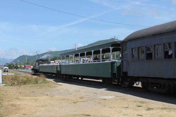 Train Rockaway Beach