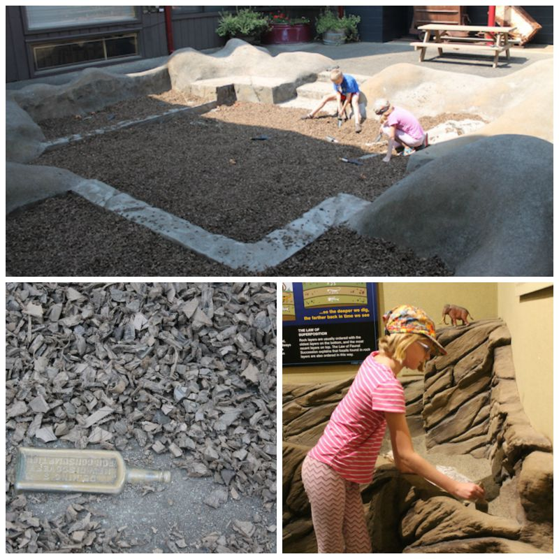 Douglas County Museum Excavation Exhibits