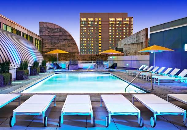 Mariott San Jose Pool