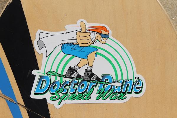 Doctor Dune Sticker on Board