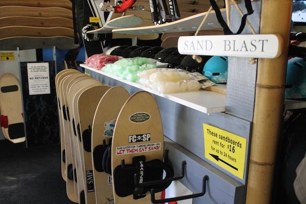 Sandboard Pro Shop