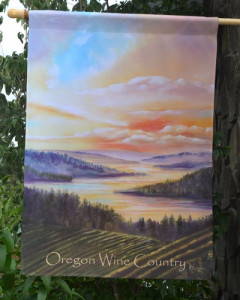 Oregon Wine Country Flag