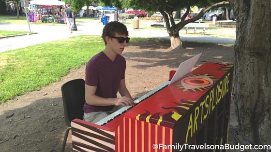 Art Festival Downtown Raleigh