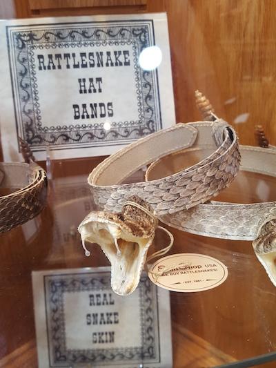 tombstone rattlesnake hat band