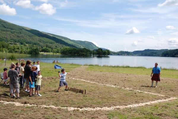 Highland Games in Aberfeldy