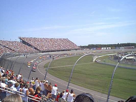 Michigan International Speedway or the Michigan Left Turn?