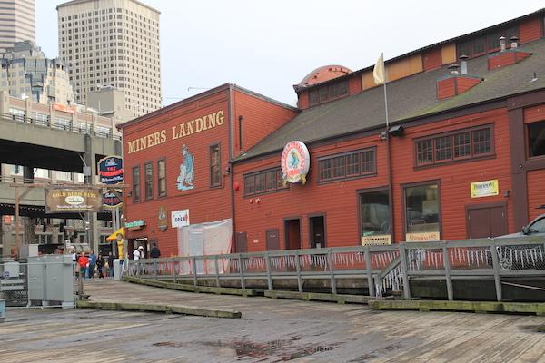 Miner's Landing on Pier 57