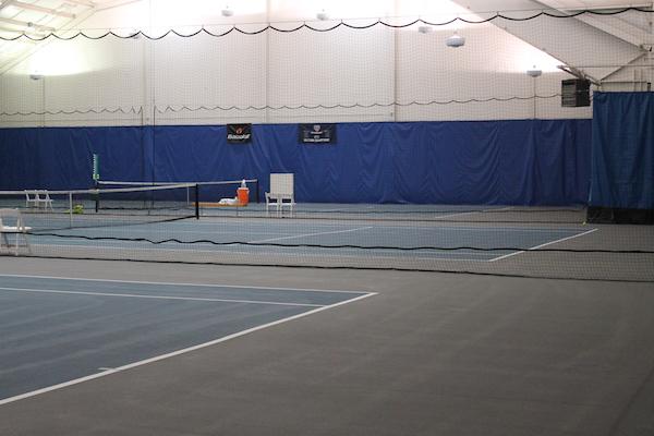 Indoor Tennis Facility at Sage Springs Club & Spa